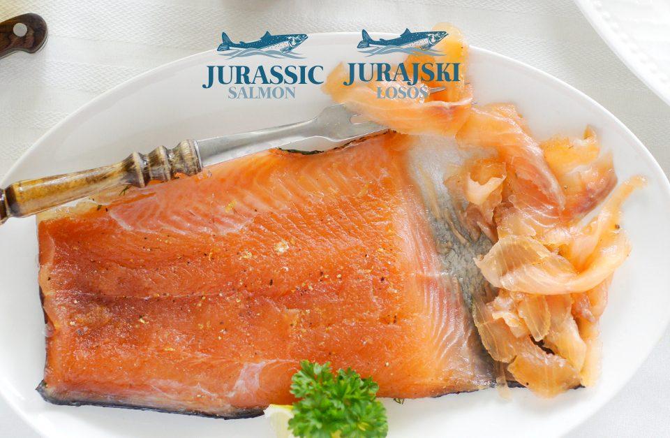 Gravlax z łososia Jurajskiego